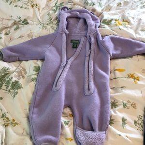 Llbean winter onesie
